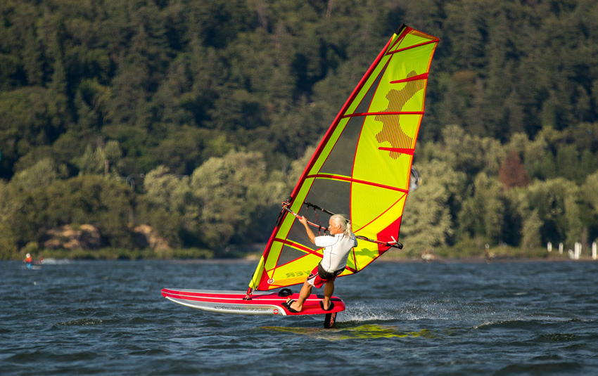 Bruce Peterson Wind foiling tips and advice