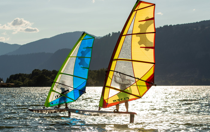 the Sailworks Flyer Windfoil Sail