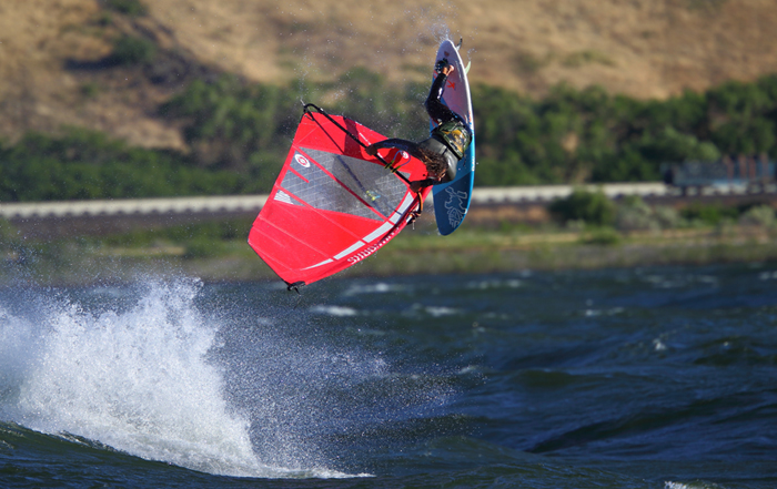 The Sailworks Revolution Windsurfing Sail
