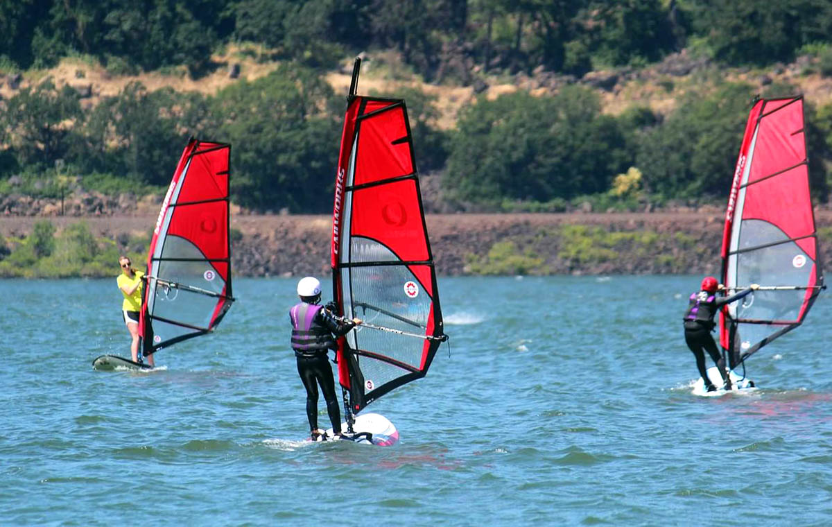 Sailworks Ripper Kids and Beginner Windsurfing Sail and Rig