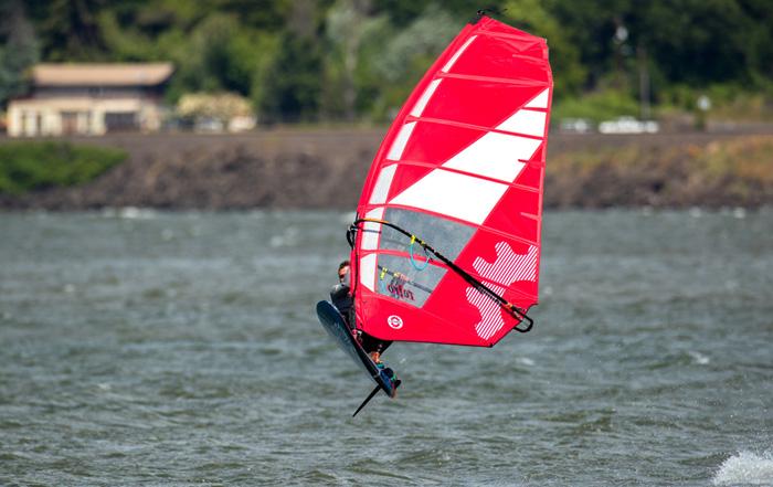 The Sailworks Retro Windsurfing Sail