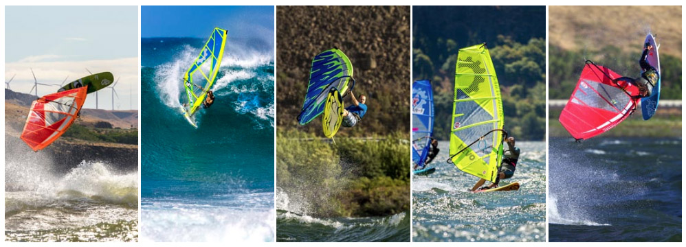 Windsurfing Device Backgrounds